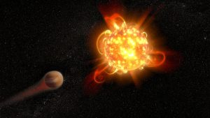 Occasionally, Older Stars Erupt with Solar Superflares, Too