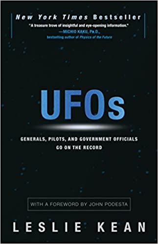 Book Cover: UFOs: Generals, Pilots and Government Officials go on the Record