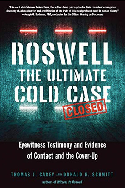 Book Cover: Roswell: The Ultimate Cold Case