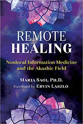 Book Cover: Remote Healing by Maria Sagi