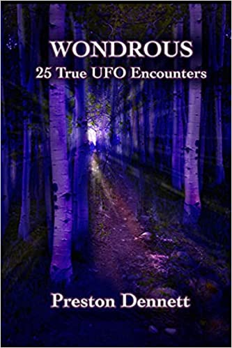 Book Cover: Wondrous: 25 True UFO Encounters